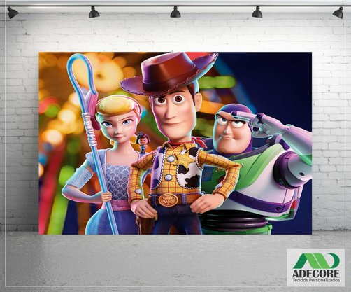 Painel Sublimado Toy Story